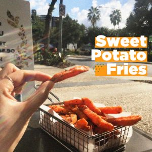 sweet, sweetpotato, fries, essential