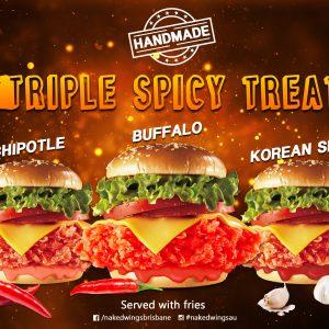spicy, burgers, KFC, koreanchicken, takeaway, bestwings, wings, brisbanefoodies, bestchicken