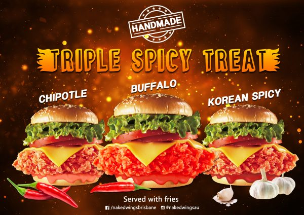 spicy, burgers, KFC, koreanchicken, takeaway, bestwings, wings, brisbanefoodies, bestchicken