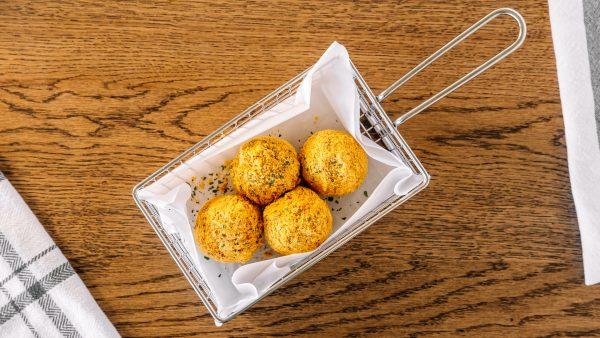 cheese ball garlic butter